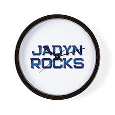 jadyn rocks Wall Clock