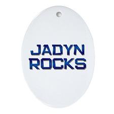 jadyn rocks Oval Ornament
