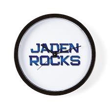 jaden rocks Wall Clock