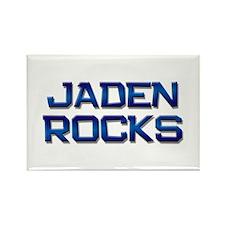 jaden rocks Rectangle Magnet