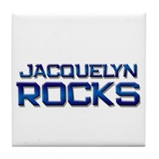jacquelyn rocks Tile Coaster
