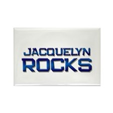 jacquelyn rocks Rectangle Magnet