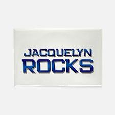 jacquelyn rocks Rectangle Magnet