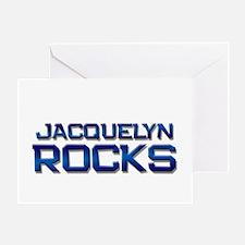 jacquelyn rocks Greeting Card