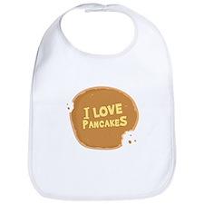 I Love Pancakes - Bib