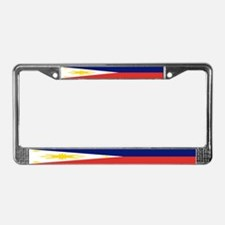 Philippine Flag License Plate Frame