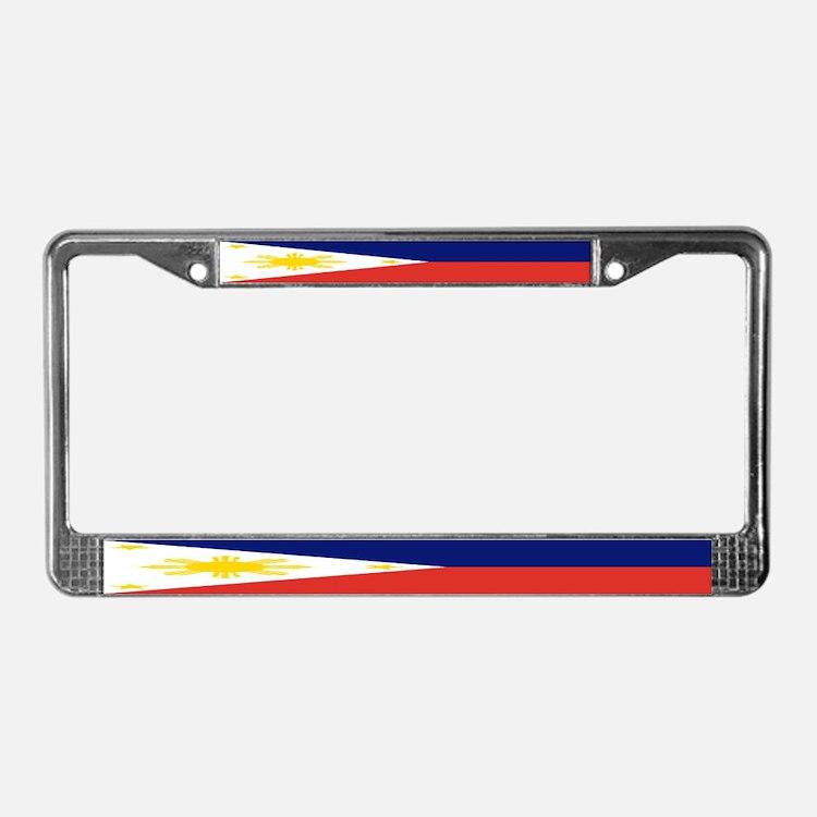 Philippine Flag License Plate Frame