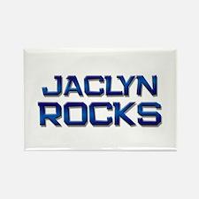 jaclyn rocks Rectangle Magnet