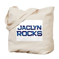jaclyn rocks Tote Bag