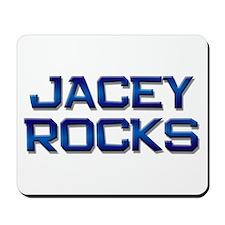 jacey rocks Mousepad