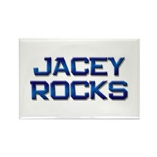 jacey rocks Rectangle Magnet