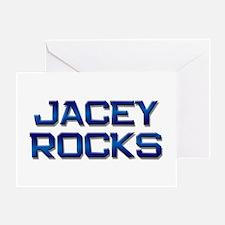 jacey rocks Greeting Card