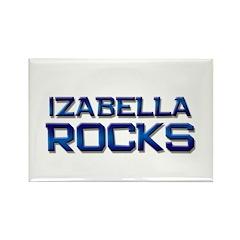 izabella rocks Rectangle Magnet (10 pack)