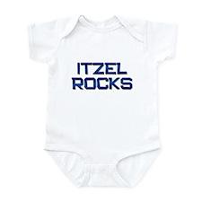 itzel rocks Infant Bodysuit