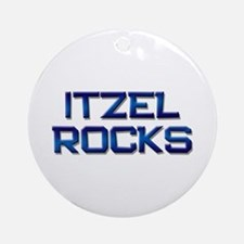 itzel rocks Ornament (Round)