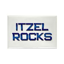 itzel rocks Rectangle Magnet