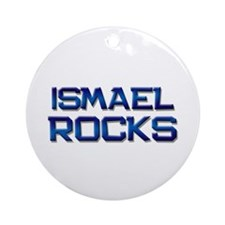 ismael rocks Ornament (Round)