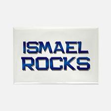 ismael rocks Rectangle Magnet