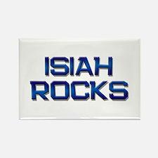 isiah rocks Rectangle Magnet