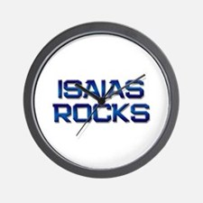 isaias rocks Wall Clock