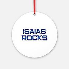 isaias rocks Ornament (Round)
