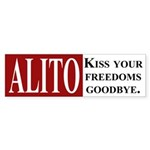 Alito: Bye, Freedom (bumper sticker)