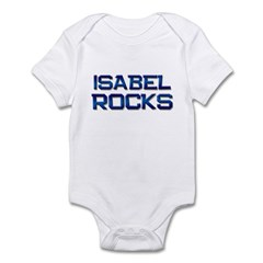 isabel rocks Infant Bodysuit