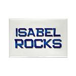 isabel rocks Rectangle Magnet (10 pack)