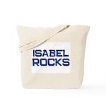 isabel rocks Tote Bag