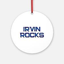 irvin rocks Ornament (Round)