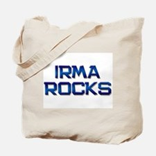 irma rocks Tote Bag