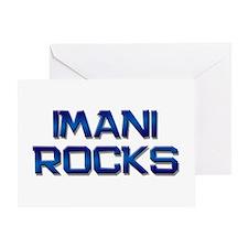 imani rocks Greeting Card