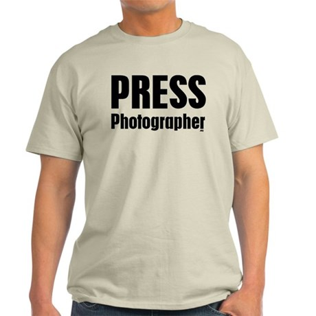 Press Photographer Light T-Shirt