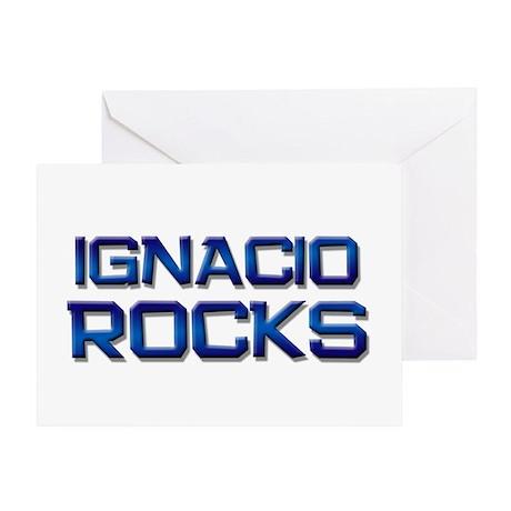 ignacio rocks Greeting Card