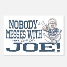 Nobody Messes with Joe Postcards (Package of 8)