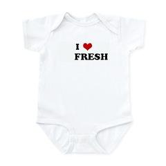 I Love FRESH Infant Bodysuit