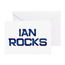 ian rocks Greeting Card