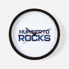 humberto rocks Wall Clock