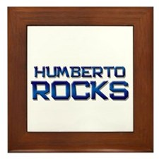 humberto rocks Framed Tile