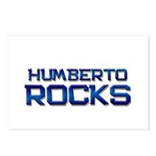 humberto rocks Postcards (Package of 8)
