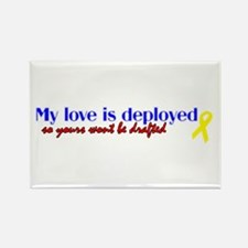 deployed so your wont get dra Rectangle Magnet