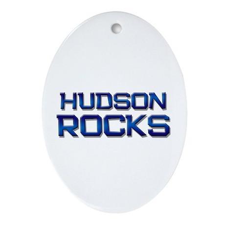 hudson rocks Oval Ornament