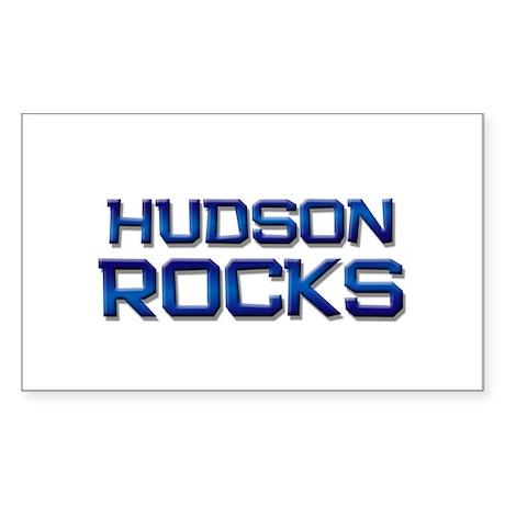 hudson rocks Rectangle Sticker