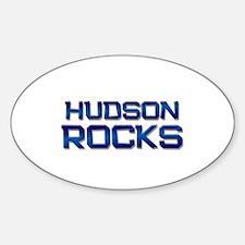 hudson rocks Oval Decal
