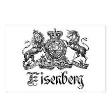 Eisenberg Vintage Family Crest Postcards (Package