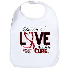 Needs A Cure 2 HIV AIDS Bib