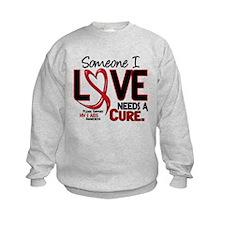 Needs A Cure 2 HIV AIDS Sweatshirt