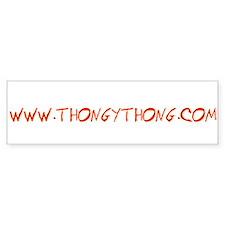 ThongyThong Bumper Bumper Sticker