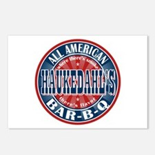 Haukedahl's All American BBQ Postcards (Package of