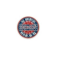 Haukedahl's All American BBQ Mini Button